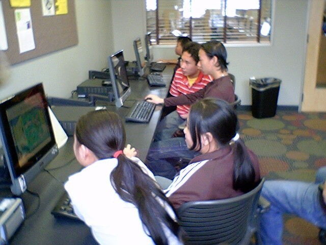 Youth computer class